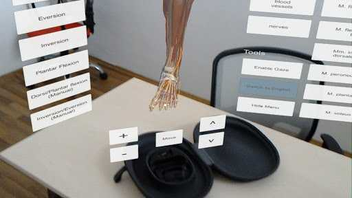 DynamicAnatomy medical application